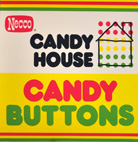 Necco Candy House Candy Buttons 24CT