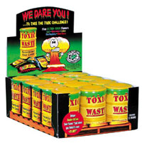 Toxic Waste Sour Candy Drums - 12ct Box