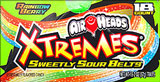 Air Heads Xtremes Rainbow Berry 18ct