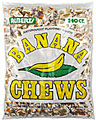 ALBERTS BANANA CHEWS 240CT BAG