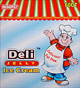 Alberts Deli Jelly Ice Cream 60ct.