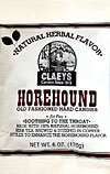 Claeys Old Fashioned Natural Horehound Barrels 6oz