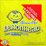 Lemonhead Chewy 24 - 1oz packages