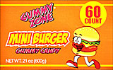Gummy Mini Burger 60ct
