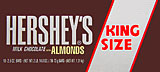 Hersheys Milk Chocolate with Almonds - King Size 18CT Box