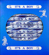 Its a Boy Peppermint Sugar Sticks 24ct Box