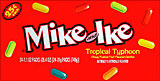 Mike and Ike Tropical Typhoon 24 - 0.78oz Packs