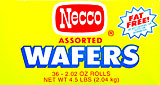 Necco Assorted Wafers 36CT Box