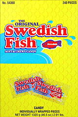 Swedish Fish - Red 240CT Box