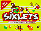 Sixlets Candy Coated Chocolate 72CT.
