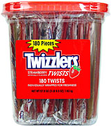 Twizzlers 180ct.