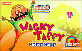 Alberts Wacky Taffy Rainbow 48ct.
