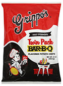 Grippos BBQ Twin Packs (6 - 8oz Bags)