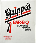 Grippos BBQ Potato Chips (1.5lb Box)