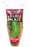 VAN HOLTENS KOSHER GARLIC POUCH PICKLE - 12 PICKLES