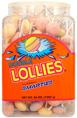 Smarties Double Lollies 200CT
