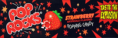 POP ROCKS STRAWBERRY 18CT