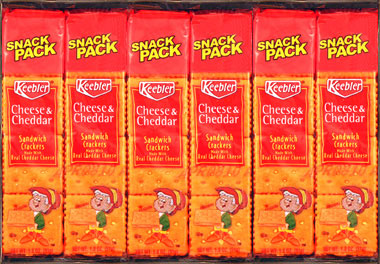 Keebler Cheese and Cheddar Crackers 12ct