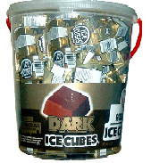 Alberts Ice Cubes Dark Chocolate 120ct