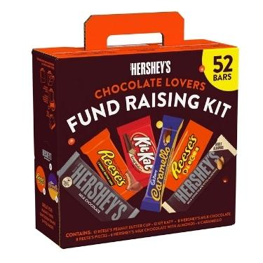 Hershey Fund Raising Kit 52ct