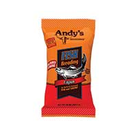 Andys Seasoning Cajun Fish Breading 10oz Bag
