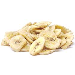 Banana Chips Sweetened 1 Lb