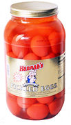 Hannahs Pickled Eggs 4lb.4oz Jar