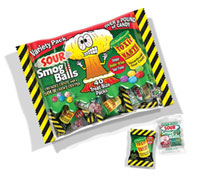 Toxic Waste Sour Candy Variety Bag