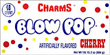 Charms Blow Pop Cherry 48CT