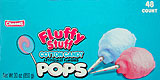 Charms Fluffy Stuff Cotton Candy Pops 48CT