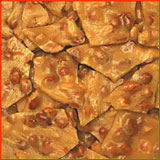 Old Fashioned Honeycomb Peanut Brittle 1lb