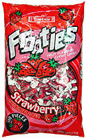 TOOTSIE FROOTIES STRAWBERRY 360CT BAG