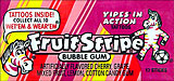 Fruit Stripe Bubble Gum 12 17 Sticks