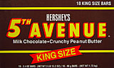 Hersheys 5th Avenue King Size 18CT Box