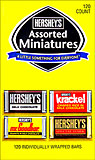 Hersheys Assorted Miniatures 120 CT.