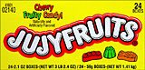 Jujyfruits 24 Box