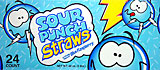 Sour Punch Straws Blue Rasberry 24CT Box