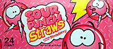 Sour Punch Straws Strawberry 24CT Box