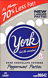York Dark Chocolate Peppermint Patties 175CT Box