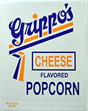 Grippos Cheese Popcorn 1lb Box