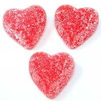 Cinnamon Jelly Hearts 1lb