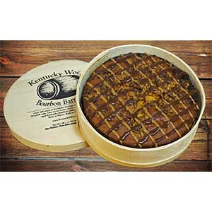 Kentucky Woods Bourbon Barrel Cake 10 Inch