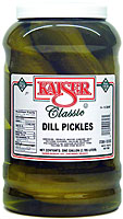Kaiser Dill Pickles Gallon