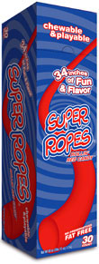 Super Ropes Rollin Red 30Ct Box