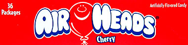 Air Heads Cherry 36 ct.