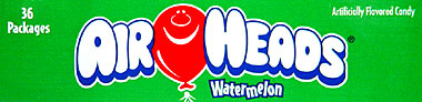 Air Heads Watermelon 36 ct.