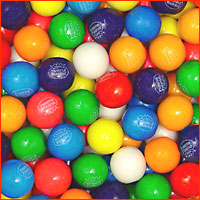 Dubble Bubble Assorted Gum Balls 1 lb.