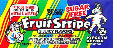 Fruit Stripe Assorted 14 15 Sticks