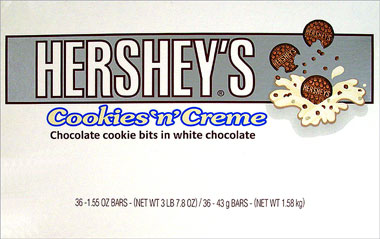 Hersheys Cookies n Creme 36CT Box