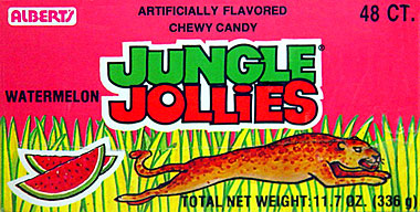 Alberts Jungle Jollies Watermelon 48ct.